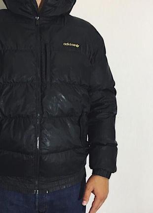 Мужская зимняя куртка adidas ( адидас лрр оригинал черная)