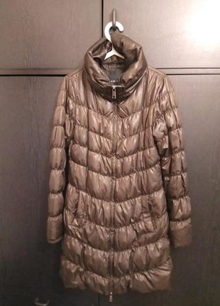 Пальто демисезонное шоколадного цвета
