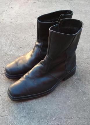 Сапоги мужские кожаные еврозима
