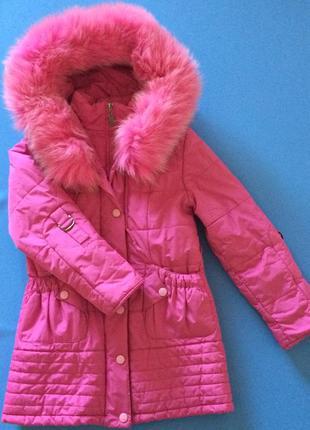 Зимняя куртка nui very на девочку