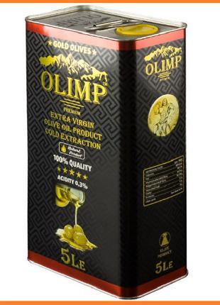 """Масло оливковое TM """"OLIMP"""". 5л. BLACK LABEL"""