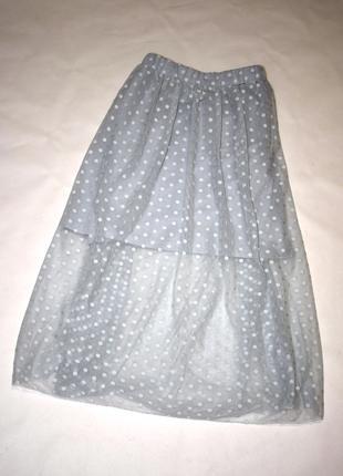 Плиссированная юбка в горошек Atmosphere