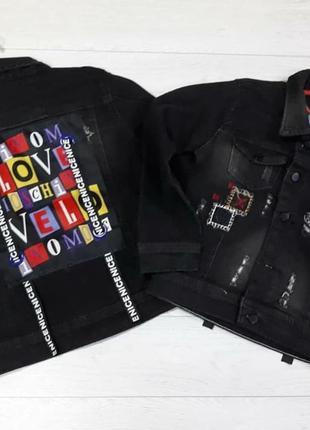 Куртка-пиджак love на девочку