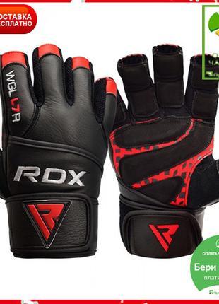 Перчатки для зала RDX Membran Pro L