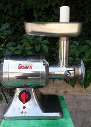 Мясорубка Enterprise Sirman производитель Италия Б/У