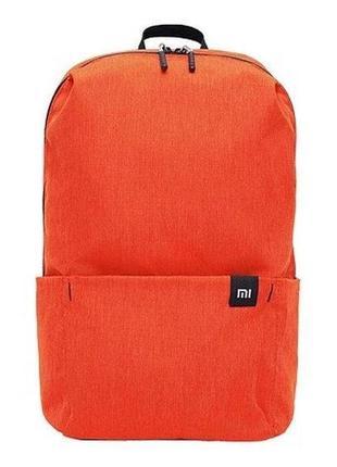Оригинальный рюкзак xiaomi 10 л оранжевый