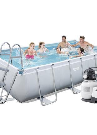 Каркасный бассейн Bestway 56442-6, 404 х 201 х 100 см (6 000 л...