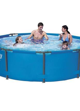 Каркасный бассейн Bestway 56984, 305 х 100 см (1 250 л/ч)
