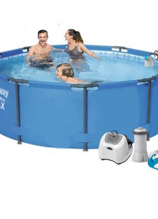 Каркасный бассейн Bestway 56984 - 6, 305 х 100 см (4 г/ч, 3 78...