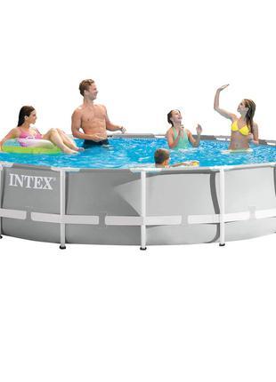 Каркасный бассейн Intex 26724 - 0 (чаша, каркас), 457 х 107 см