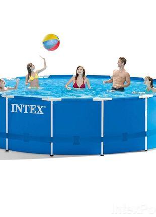 Уценка! Каркасный бассейн Intex 28242 - 0 (Stock) (чаша, карка...