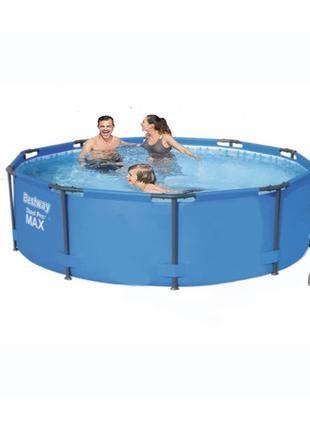 Каркасный бассейн Bestway 56984 - 5, 305 х 100 см (3 785 л/ч, ...