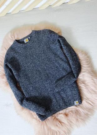 Шерстяной свитер carhartt оригинал
