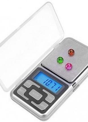 Весы карманные, ювелирные pocket scale mh-100, 100 г, шаг - 0,...