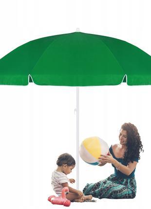 Пляжный (садовый) зонт усиленный с регулируемой высотой Spring...