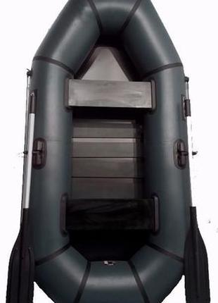 Лодка пвх надувная Grif boat GH-240LS двухместная