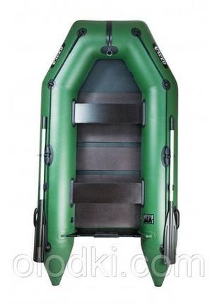 Надувная моторная пвх лодка Ладья ЛТ 270 М