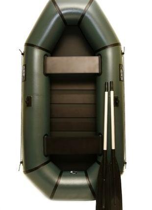 Лодка пвх надувная двухместная Grif boat GH-240S