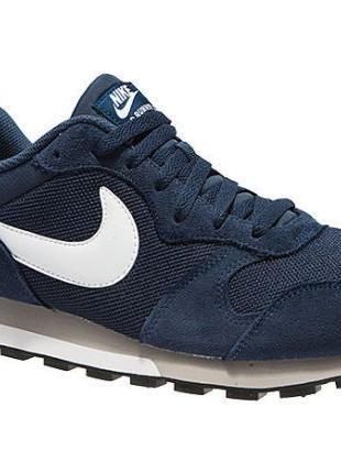 Nike MD Runner 2 оригинал в двух цветах (синий и черный)