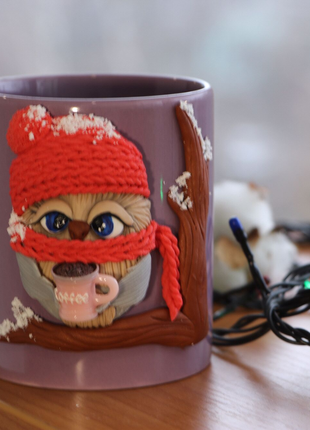 Чашка с совушкой