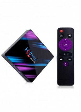 TV BOX H96 MAX (RK3318 4+32 Android 9.0)