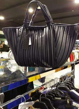 Большая стильная сумка италия