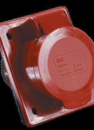 Розетка 424 скрытая 3Р+Е 32А 380В IP44 IEK