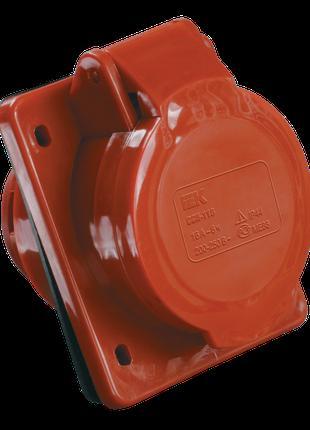 Розетка 415 скрытая 3Р+Е+N 16А 380В IP44 IEK