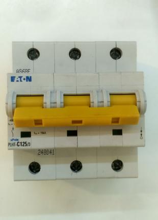 Автоматический выключатель Eaton PLHT-C125/3 (248041) Moeller
