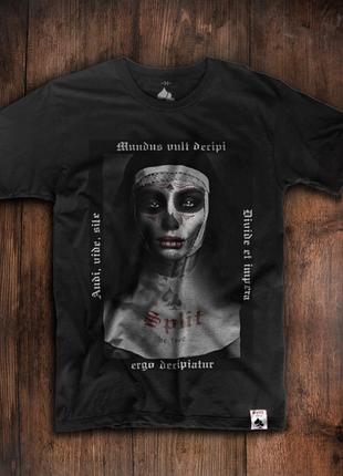 Мужская футболка с мистическим принтом