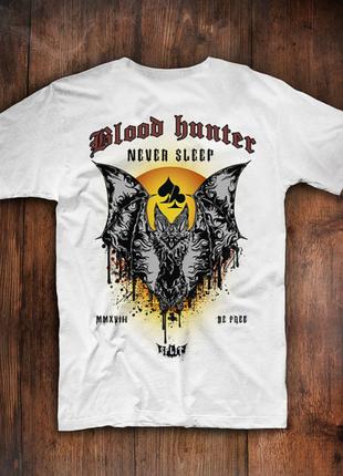 Мужская футболка blood hunter