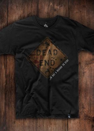 Смелая мужская футболка dead end
