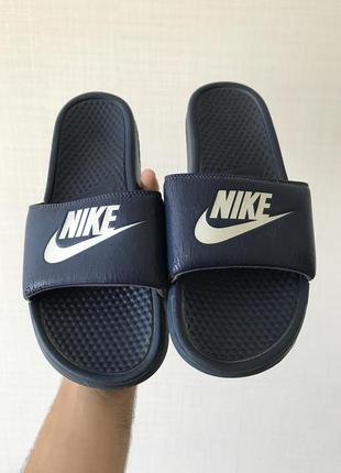 Nike мужские шлепки тапки сланцы 44-45 размер