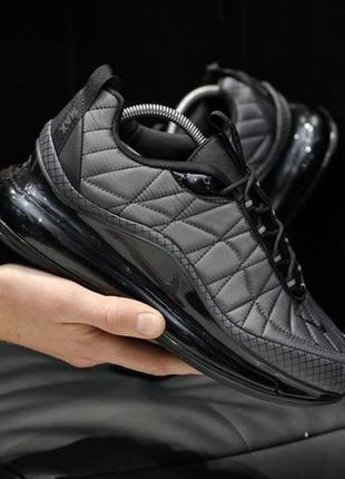 Кроссовки Nike Air Max 720-98 gray, серые. ТОП КАЧЕСТВО!