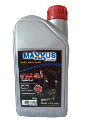 Масло Maxxus 5W-30 LONGLIFE-VA 1л синтетическое