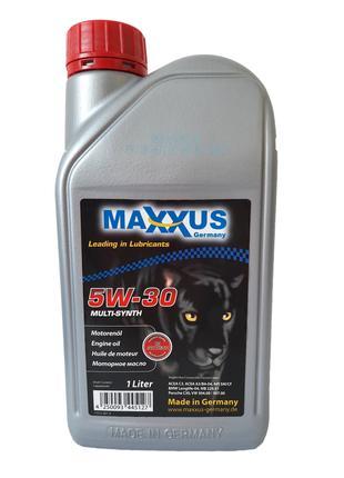 Масло Maxxus 5W-30 MULTI-SYNTH 1л синтетическое