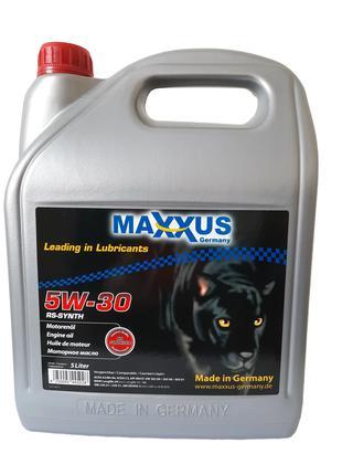 Масло Maxxus 5W-30 RS-SYNTH 5л синтетическое