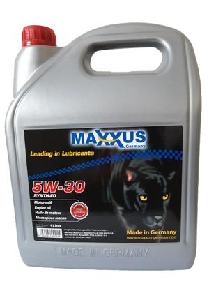 Масло MAXXUS 5W-30 SYNTH-FD 5л синтетическое