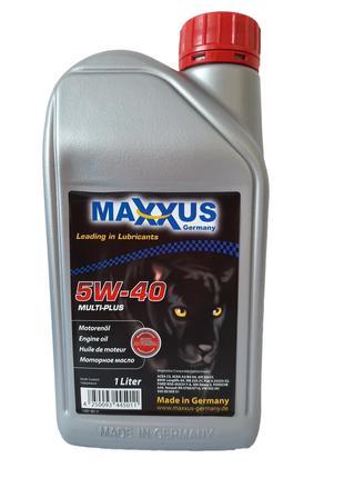 Масло Maxxus 5W-40 MULTI-PLUS 1л синтетическое