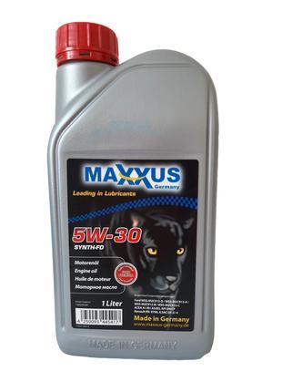 Масло MAXXUS 5W-30 SYNTH-FD 1л синтетическое