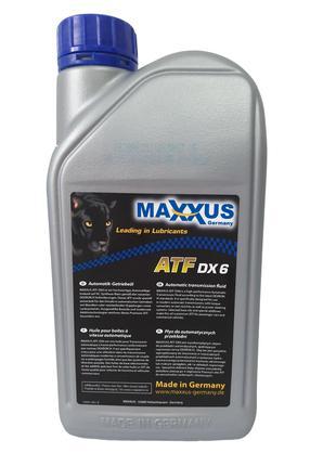 Трансмиссионное масло Maxxus ATF-DX6 1л
