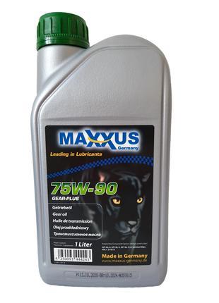 Трансмиссионное масло Maxxus 75W-90 GEAR-PLUS 1л
