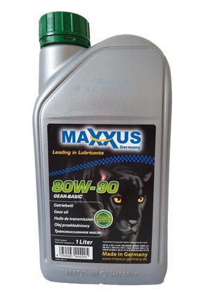 Трансмиссионное масло Maxxus GEAR-BASIC SAE 80W-90 1л