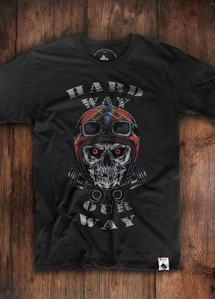 Мужская футболка hard way