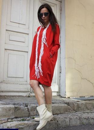 Спортивное платье бочонок (р.42-48)