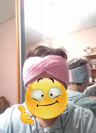 Актуальная повязка на голову тюрбан, чалма. тюрбан