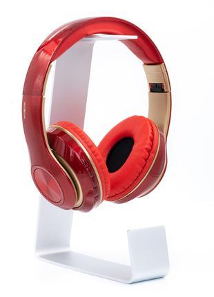 Беспроводные Bluetooth наушники Moxom MX-WL34 (накладные) красный