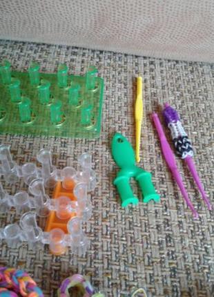 Резиночки и станки для плетения игрушек и браслетов