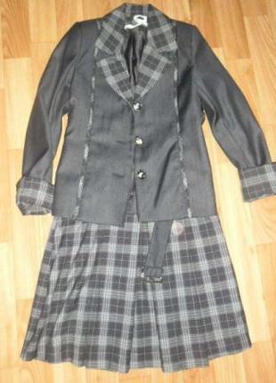 Школьная форма:сарафан+пиджак 1-4 класс