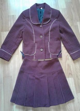 Школьная форма #пиджак,юбка,брюки